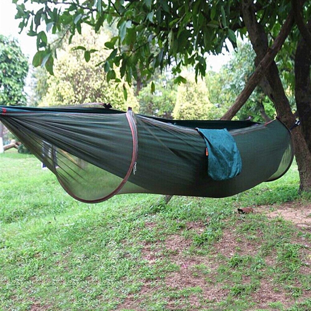 Alta Calidad Que Acampa Hamaca 3 Colores 2 Persona Parachute Nylon Hamaca Paraca