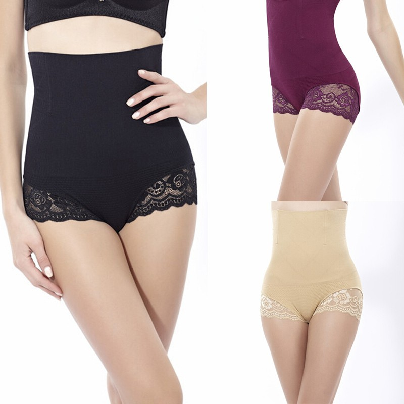 78d32a6b8c8 High Waist Briefs Women Panty Body Shaper Control Slim Tummy Underwear  Shapewear YRD-in Control Panties from Women s Clothing   Accessories on ...