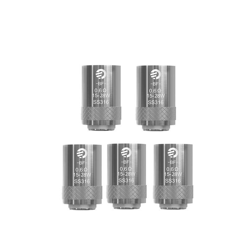 5pcs/lot Original Joyetech eGo AIO Coil BF SS 316 Replacement Head 0.6ohm Coil for Electronic Cigarette eGo AIO Starter Kit