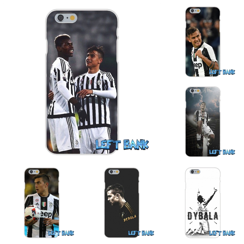 For iPhone 4 4S 5 5S 5C SE 6 6S 7 Plus juventus Star dybala Soft Silicone TPU Transparent Cover Case