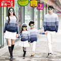 Family Set Clothes For Mother And Daughter Son Cotton Family Matching Outfit Clothing Sweater Family Fashion Clothes