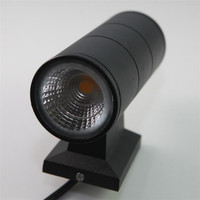 20PCS 2X7W COB Dimmable Double wall lamp LED wall light up an down outdoor IP65 waterproof AC110V 220V 3year warranty
