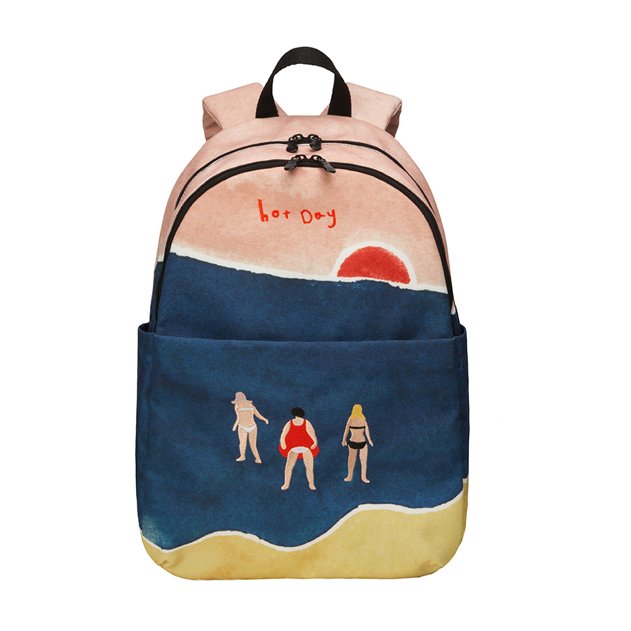 2019 original creative casual backpacks large capacity school bags in ONE DAY series for 15inch computer