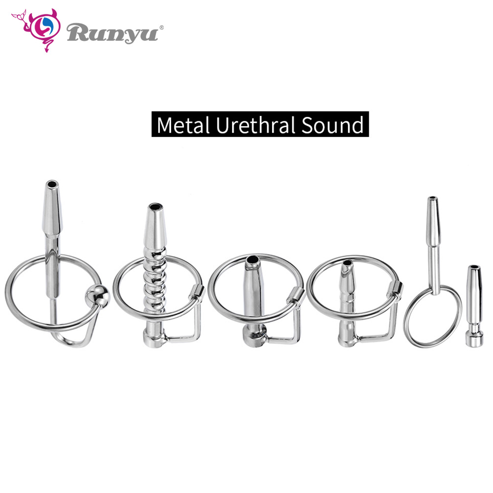 Urethral Sound 6 Style Can Choose Long Stainless Steel  Dilators Penis Plug For Male Masturbator Penis Inserts Chastity
