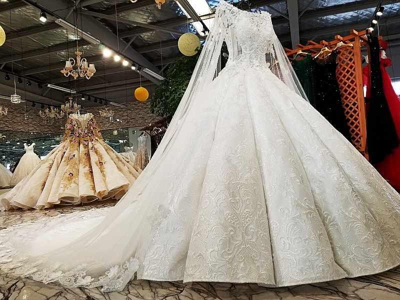 LS02174 свадебный халаткрышки рукава свадебное платье rhinestone appliques белое кружево последнее приличное платье для мантии шарика свадебное платье свадебное платье 2018