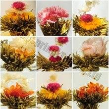 Художнический цветения, упаковке, цветущий вакуумной индивидуальный цветка видов чай, чай