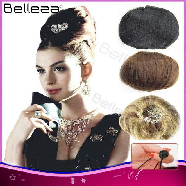 Us 8 99 Braut Haarknoten Chignon Roller Pferdeschwanz Audrey Hepburn Frisur Perucke Haarteile Elastisches Netz Hochsteckfrisur Hitzebestandige