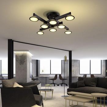 LED deckenleuchten schlafzimmer modernen flur leuchte nordic ...