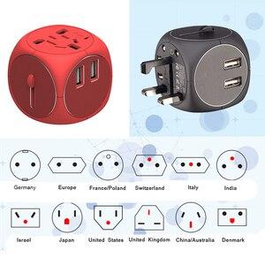 Image 5 - Универсальный ЕС, Великобритания, AU, США, переменный ток, зарядное устройство, адаптер преобразования для домашнего использования для путешествий