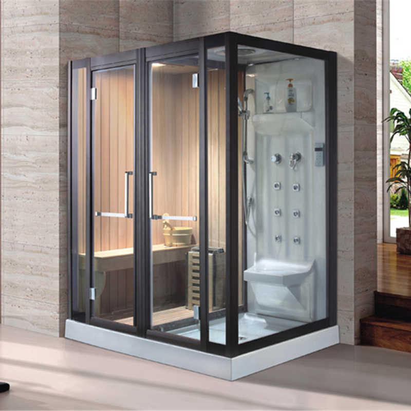 Steam Sauna Shower Combo