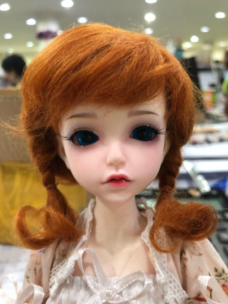 Free shipping 1 6 BJD Doll Fashion Lonnies with eyes