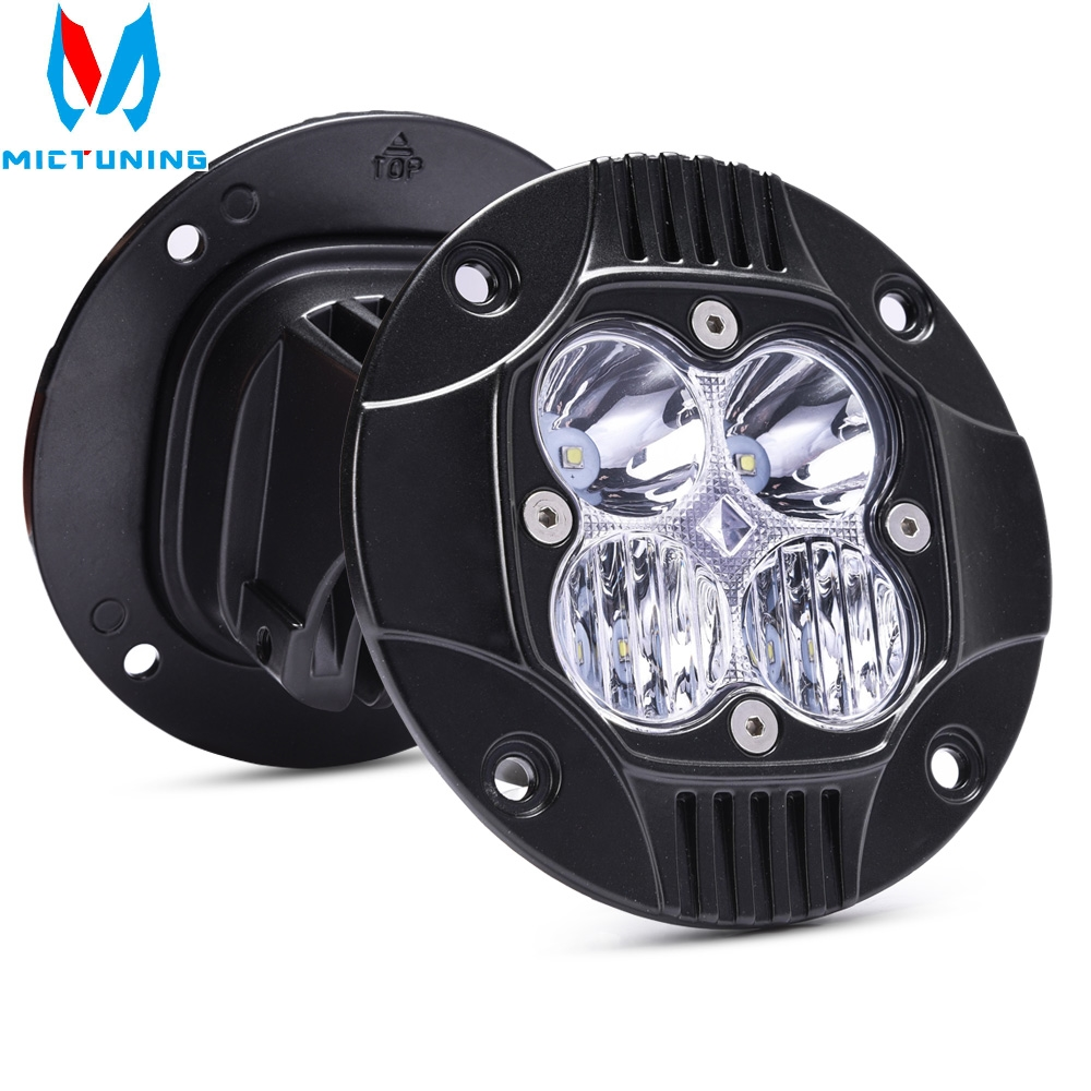 2pcs 5 50W LED Work Light Bar Combo Driving Fog Lamp Super Bright 3000LM LED Work