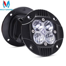 2pcs 5 50W LED Work Light Bar Combo Driving Fog Lamp Super Bright 3000LM for Truck Car ATV SUV Jeep Boat