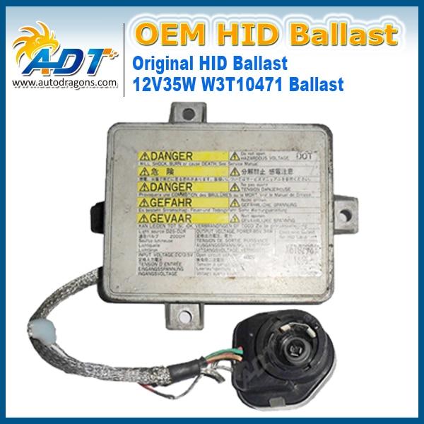 OEM Xenon HID Headlights Igniter Inverter Control Ballast  X6T02981 X6T02971 W3T11371 W3T10471 2004-2007 For Honda S2000  лента для уровня колокола rubi 100шт 02981
