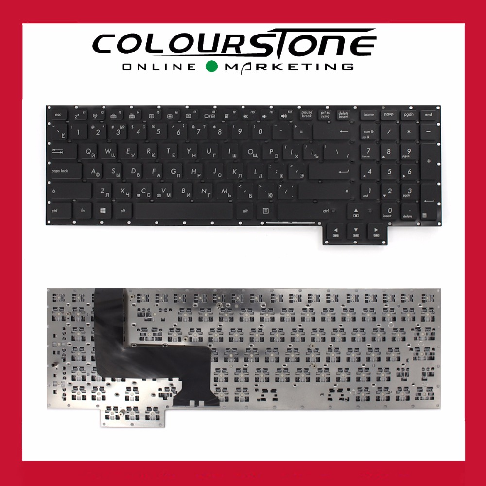 For Asus G750 G750JH G750JM G750JS G750JW G750JX G750JZ Russia black laptop keyboard цена