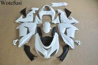 Wotefusi ABS впрыска Неокрашенный Кузов обтекателя Для Kawasaki Ninja ZX10R 2006 2007 [CK1060]