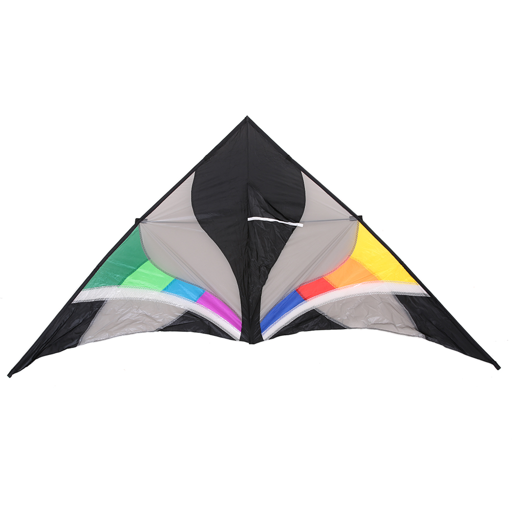 300*135cm Single Line Kite Huge Delta shape Kite Flyer Triangle Assembled Kite Children Adults For Fun Perfect for Vacation toys