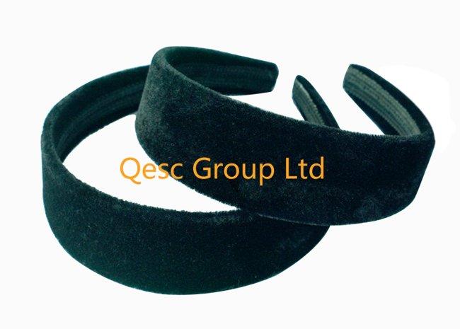 4 см бархатная повязка на голову по оптовой цене(5 шт./партия), использовать для Sinamay вуалетки или украшения для волос. черная, белая, слоновая кость цвета