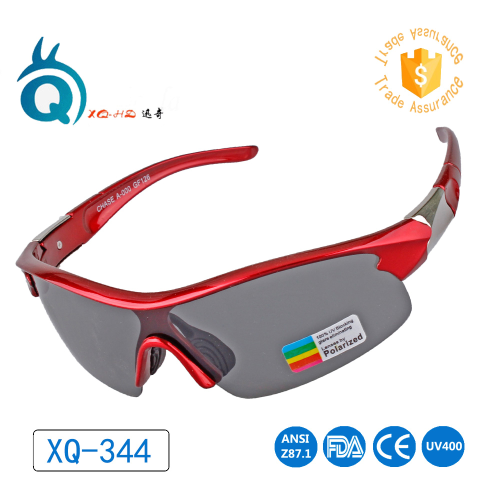 colorful new frame sport sun glasses polarized grey lens Hiking ...