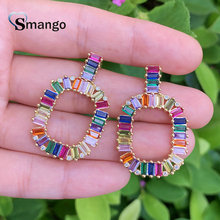 Stud Earrings, Women Fashion Jewelry, The Rainbow Series, Top Quality Plated,Can Wholesale.5pairs