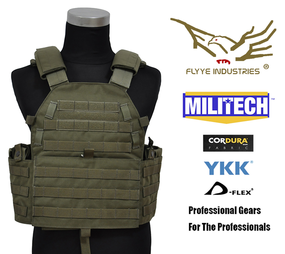 MILITECH Mil Spec Military LT6094 RG Ranger Green Combat Molle Tactical Vest Army Combat Vests LBT6094 Style Gear Vest Carrier mil spec military lt6094k coyote brown cb plate carrier combat molle tactical vest army military combat vests