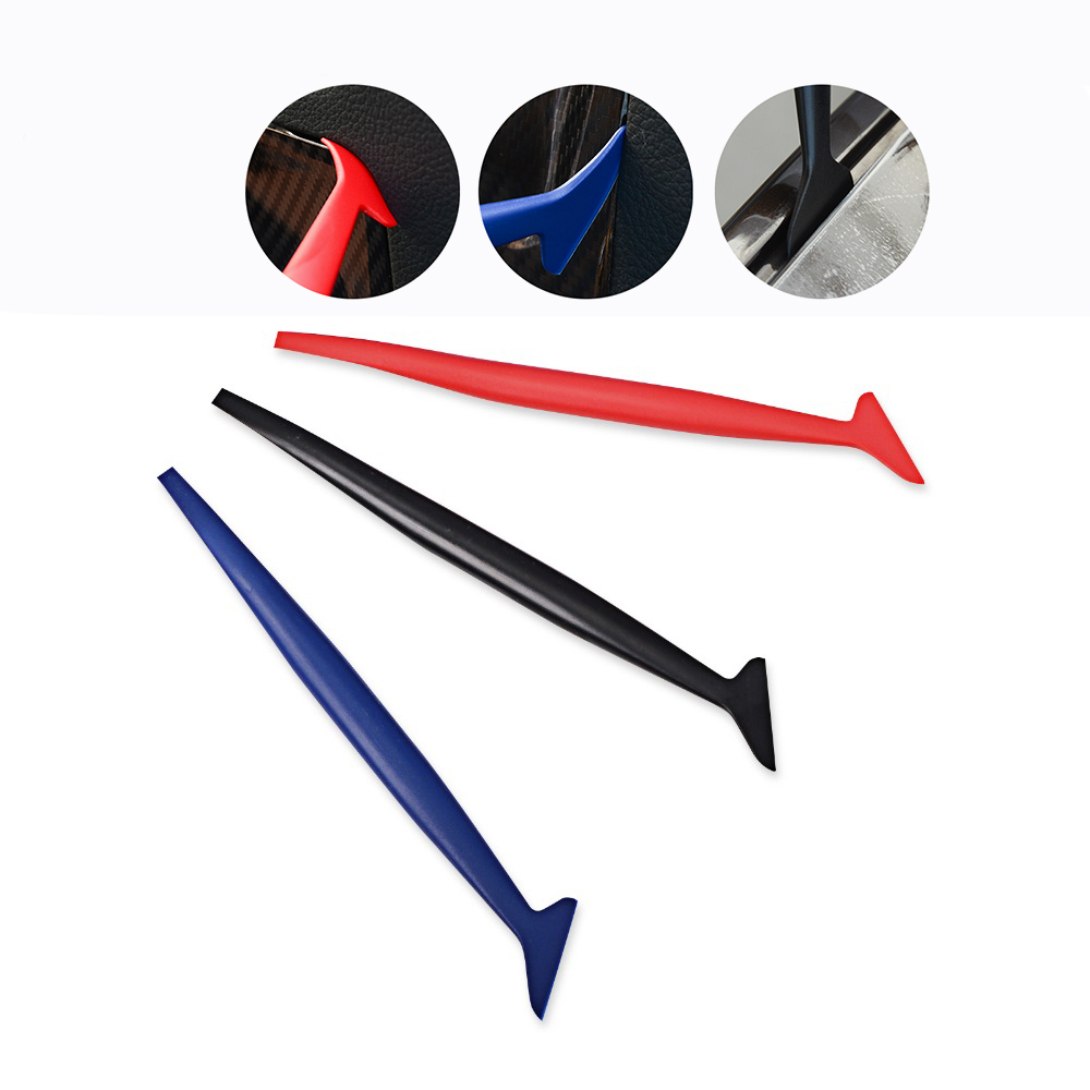 EHDIS Vinyl Wrap Film Handle Squeegee Carbon Fiber Vehicle Wrapping Scraper Car Styling Sticker Accessories Window Tints Tool