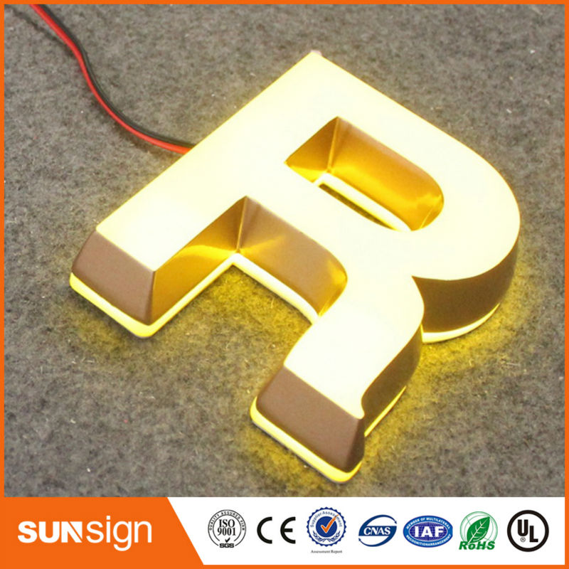 Illuminated Frontlit Acrylic Led Signboard Design