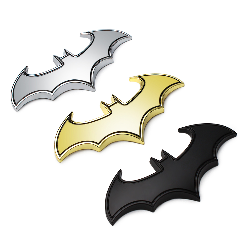 NEW Car styling Bat Badge Logo Tail Decal sticker for Peugeot 1007 107 108 2008 206 207 208 208 GTi 301 307 3008 car styling