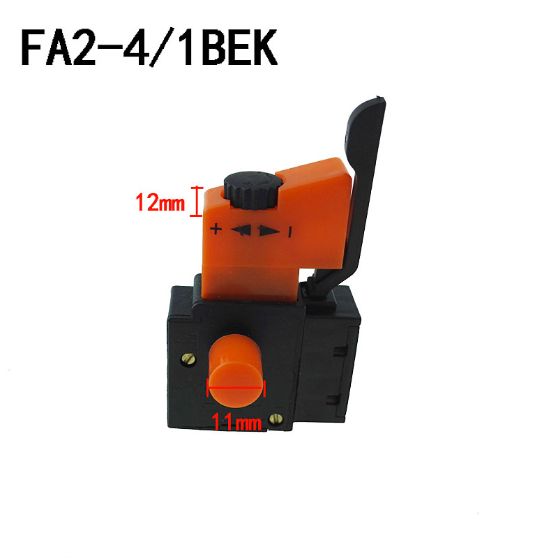 Independent Fa2-4/1bek Speed Control Trigger Switch 250vac/4a For Electric Drill Tools