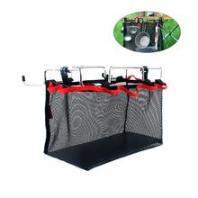 Сетчатый мешок для хранения вещей сетчатый мешок для хранения для пикника на открытом воздухе кемпинга кухня складной стол подвесная сетка(s m l