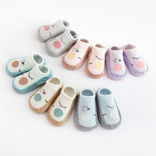 Spring and Summer New Baby Floor Socks Baby Skin Bottom Cotton Non-Slip Toddler Socks 1-3Y Children Short Tube Socks new spring summer kids floor socks non slip leather bottom boys and girls baby toddler socks bow 0 1 3 years old girls socks