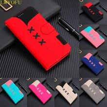 Flip holster wallet For Sony XZ3 XZ2 XZ1 bracket PU for Xperia 1 phone case