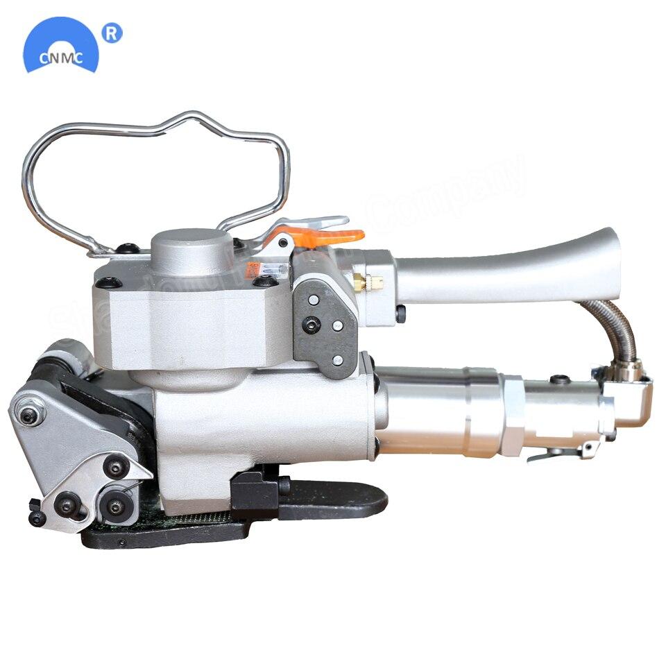 Máquina de cintar pneumática ferramenta de cintas de plástico para 16 A25 A19-19mm PET cinta PP coladeira