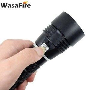 Image 5 - Wasafire 10000 Lumens צלילה לפיד מקצועי עוצמה led עמיד למים לצלילה פנס צולל אור LED מתחת למים פנס