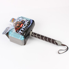 1 Piece 27cm Approx New Thor's Hammer Toys Thor Custome Thor Cosplay Hammer Great Gift Toys Model For Children цена