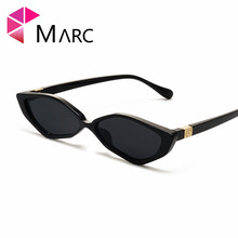 MARC Retro Cat Eye Sunglasses Women Small Frame Triangle Sun glasses Eyewear Oculos De Sol Feminino Lunette Soleil