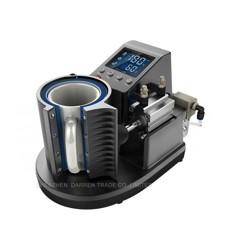 1PC ST110 Mini Pneumatic Vertical Multi-function Heat Transfer Press Thermal Printing Mug Cup Machine 110/220V mini pneumatic vertical multi function heat transfer press thermal printing mug cup machine
