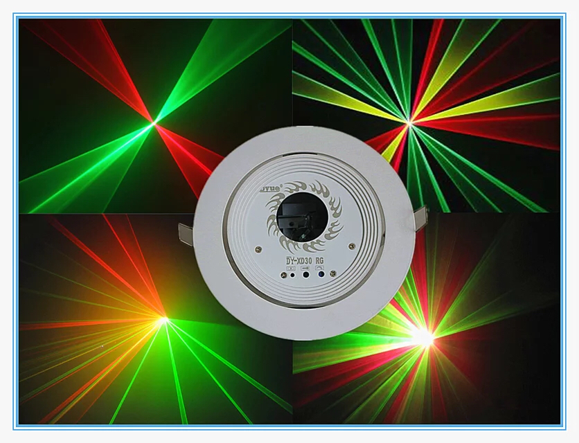 RASHA New Arrival High Quality 150mW RG Mini Laser Light Ceiling Laser Light For Event Party Stage DMX Light