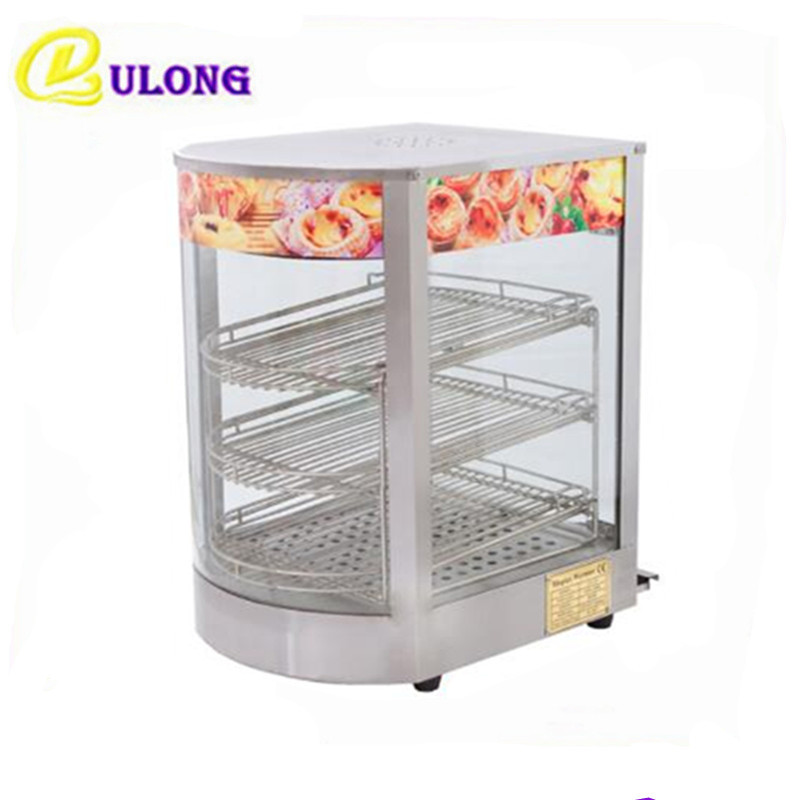 service self square warmer heating table display stainlesssteel eq commercial net glass countertops cabinet triple countertop