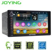 Новый радуясь 2 ГБ Оперативная память Android 6.0 Marshmallow Аудиомагнитолы автомобильные стерео GPS навигации двойной 2 DIN мультимедийный плеер Поддержка dab + /DVR/OBD2