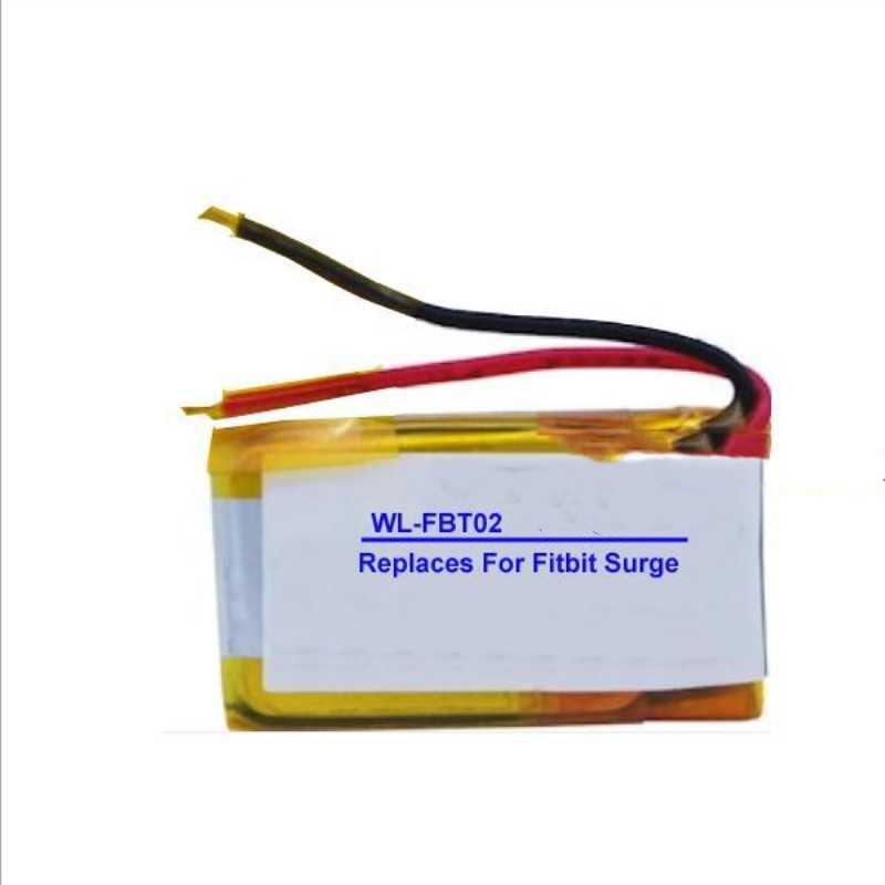 TTVXO voor 100 mAh Smartband Fitbit Surge Smartwatch Batterij LSSP491524AE