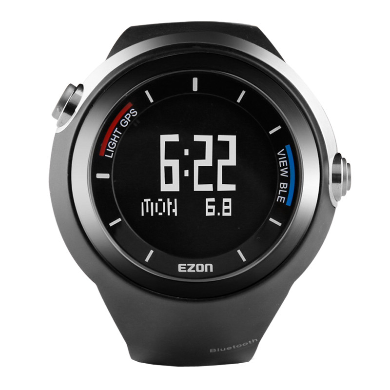 GPS smart sports watch Bluetooth outdoor off - road running step men 's electronic watch Men Waterproof Wrist  for IOS Android men s multi function waterproof smart sports running watch s2 with pedometer pair with android 4 3 ios6 0 or higher bluetooth