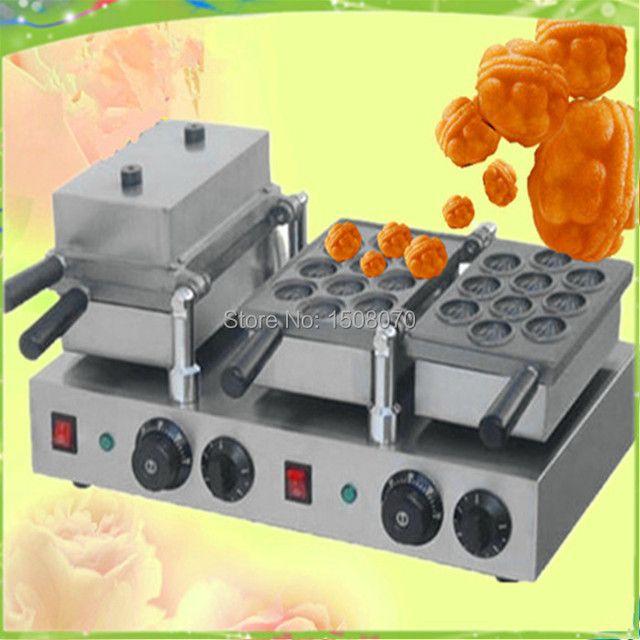 Free Shipping Commercial Walnut Cake Machine Egg Waffle Made In China