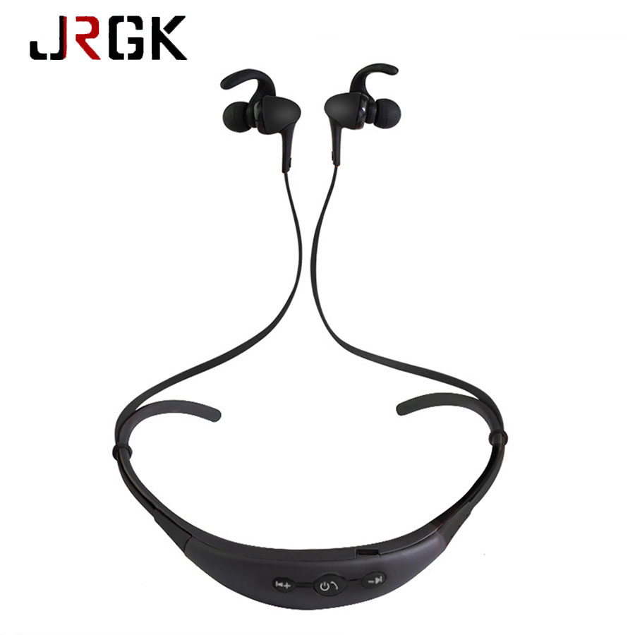 Sport Bluetooth Stereo Headset Wireless Bluetooth Headsets For iphone 6 6s Samsung Smartphone In-ear Music Earphone With Mic wireless bluetooth headset csr4 0 handfree earphone stereo mp3 music with mic for iphone android smartphone power display