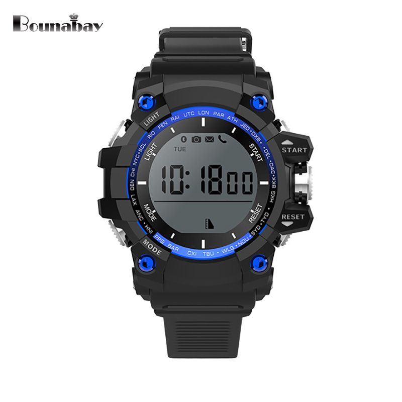 BOUNABAY Bluetooth 4.0 Smart touch screen watch man sports wifi watches for apple Android ios phone men 3g m Clocks mens clock