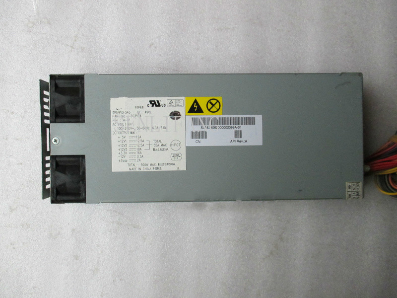 Free Shipping 100% Working Power Supply For API3FS43 400W Fully Tested.
