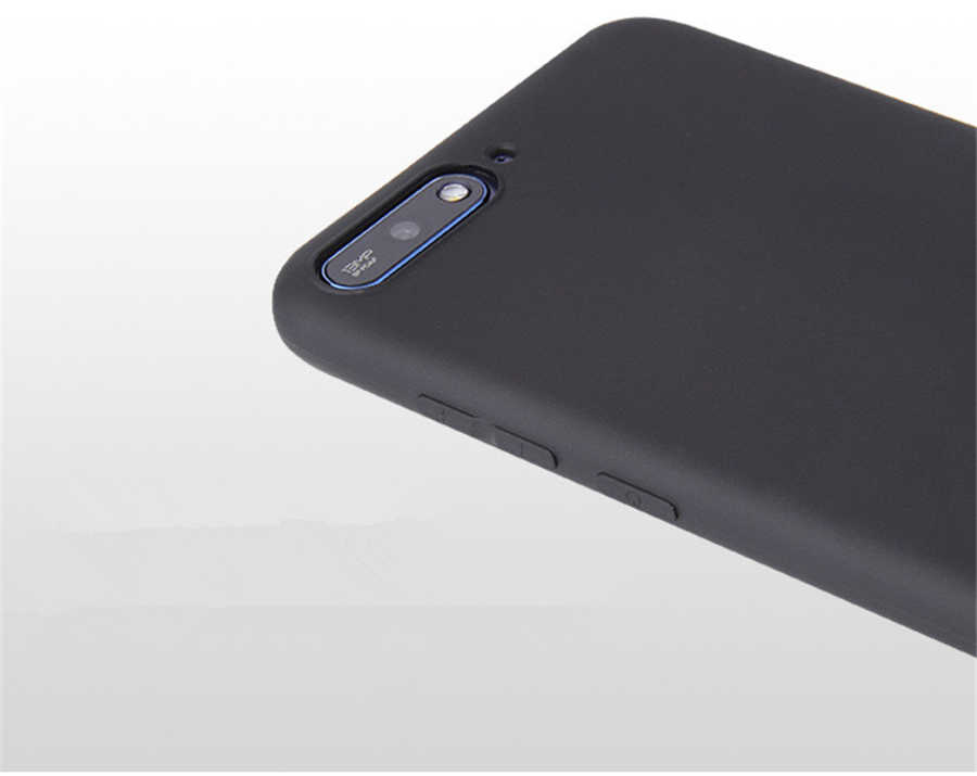 Kẹo Màu dành cho Huawei Y6 Y5 Prime 2018 P20 P9 P10 Giao Phối 10 Lite Danh Dự 10 9 Lite 7C 7A Pro 8X 8C P Thông Minh Silicon Mềm Mại Trường Hợp