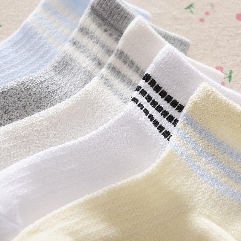 Aktiv 20 Paare/los Baby Der Sommer Lüften Mesh Socken Reine Baumwolle Weiche Socken Jungen Mädchen Socken Hell In Farbe