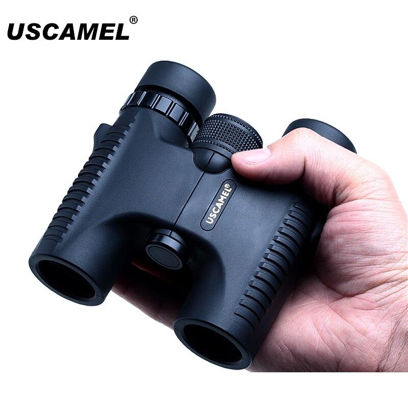 USCAMEL Military Compact 10x26 HD Wasserdichte Fernglas Klare Vision Zoom Professionelle Teleskop für Reise Outdoor Jagd