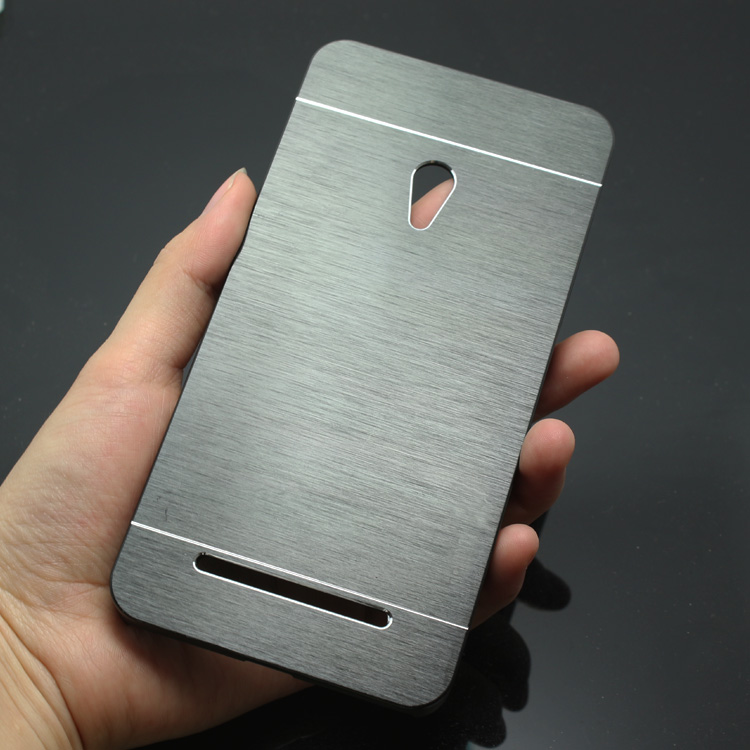 on sale 29256 9d10a US $3.98 |Luxury Metal Brush Hard Case for Asus Zenfone 5 A501CG Aluminum  Back Cover Capa Celular on Aliexpress.com | Alibaba Group